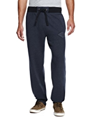 North Coast Cotton Rich Cuffed Hem Joggers