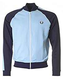 Fred Perry Sports Bomber Track Jacket SKY XXLARGE