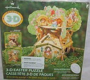 Hallmark 3-D Easter Puzzle