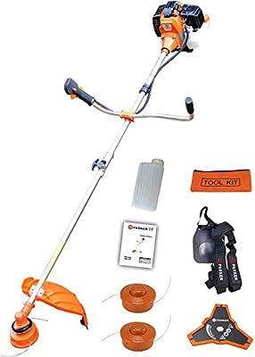 52cc Petrol Strimmer Garden Grass Brush Cutter Trimmer - Free Tool Kit + More