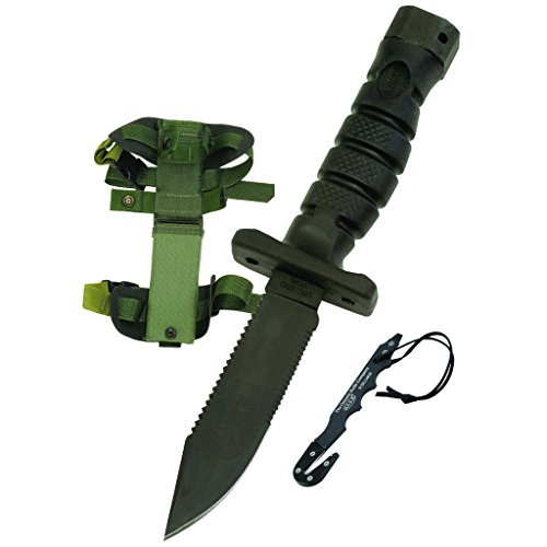 Ontario 1400 ASEK Survival Knife System (Black)