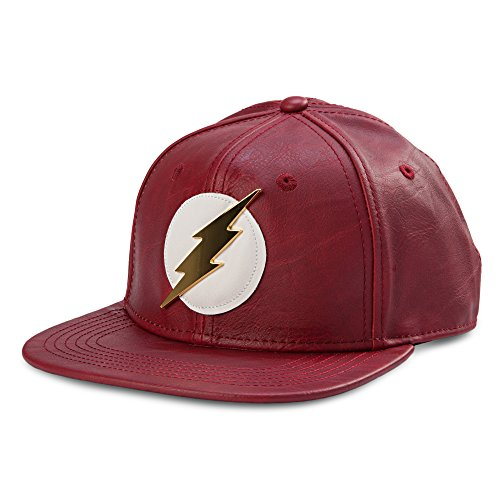 bioworld-official-dc-comics-flash-faux-leather-snapback-hat-one-size