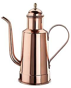 Paderno World Cuisine 9-Inch High Copper/Tin Oil Dispenser