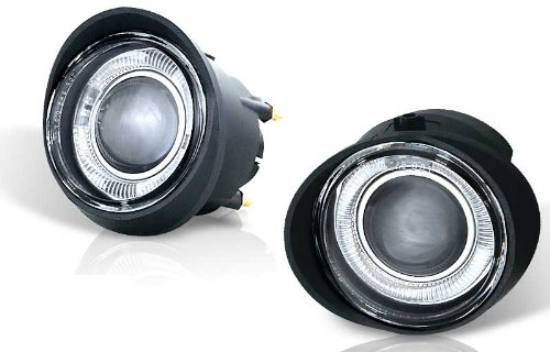 For 02-04 Nissan Altima 03-05 FX35/45 Clear Halo Projector Fog Light Pair Set (2003 Nissan Altima Fog Lights compare prices)