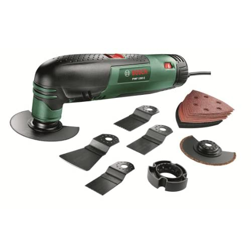 Bosch PMF 190 E Multifunctional Allrounder Set: Oscillating Multi-Tool with 13 Accessories
