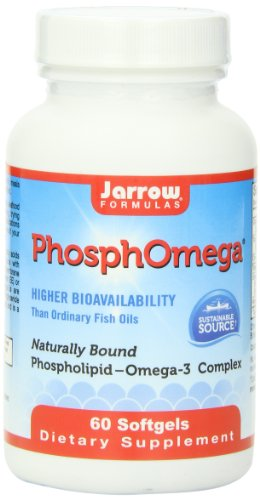 Jarrow Formulas Phosphomega, 1000 Mg, 60 Count