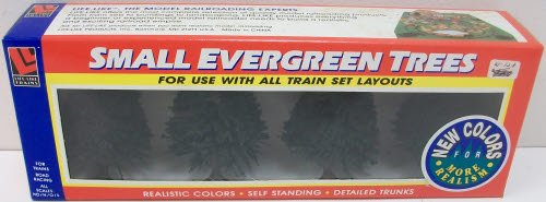 Life Like 1907 Small Evergreen Trees (4) - 1