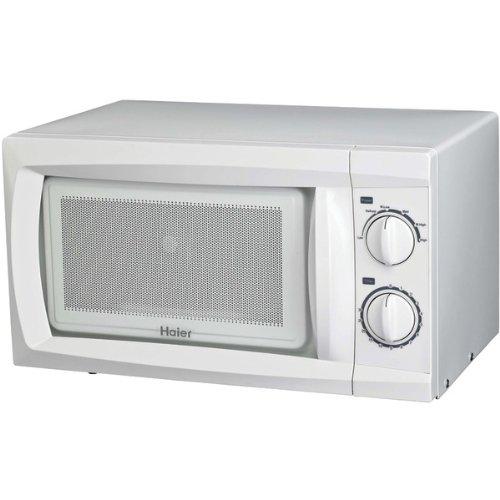 Haier Zhmc610Beww .6 Cubic-Ft, 600-Watt Microwave (White)