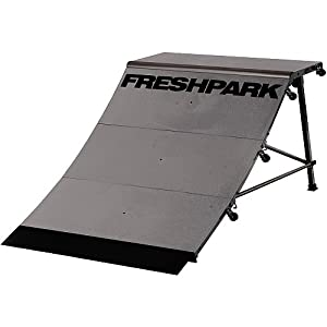 Amazon.com : FreshPark Professional BMX and Skateboarding Quarter Pipe
