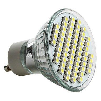 Gu10 3.5W 60X3528 Smd 150-180Lm 6000-6500K Natural White Light Led Spot Bulb (230V)
