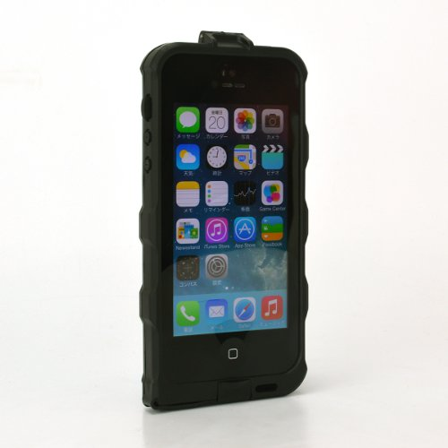 スペックコンピュータ attach×bfree WATERPROOF IC CARD CASE for iPhone5s/5 電磁波干渉防止シートつき ウォータープルーフICカードケース 防水 防塵 耐衝撃 MIL規格 IP67 (ブラック)