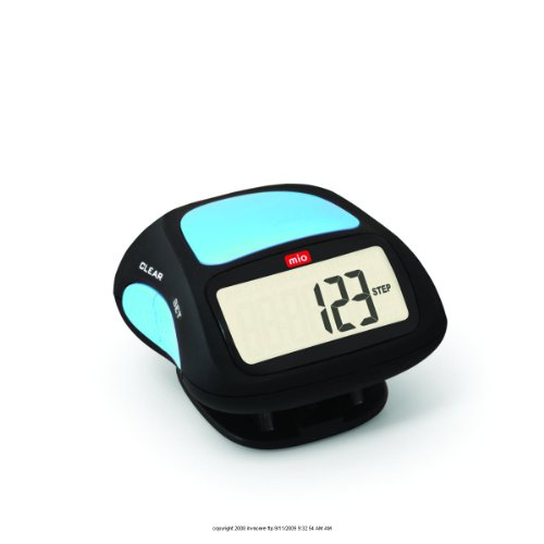 MIO Step 1 Pedometer, Step 1 Pedometer Blue, (1 EACH, 1 EACH) Physi-Cal Enterprises B007AZ6IS6