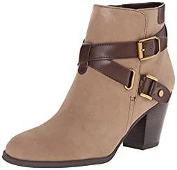 Franco Sarto Women\'s Delight Ankle Bootie, Truffle Taupe, 5.5 M US