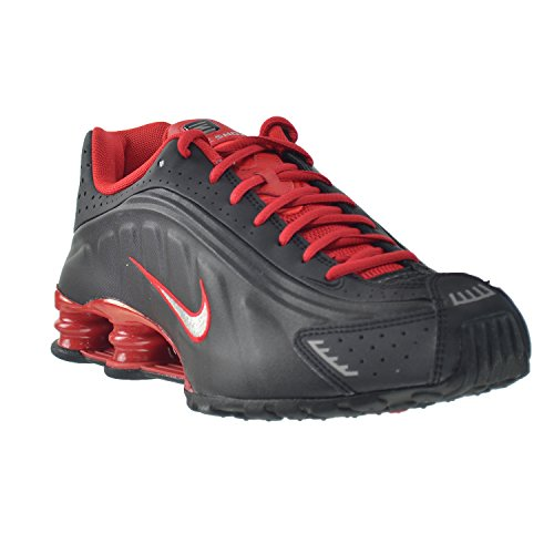 37e760abf2cfe2 Nike Shox R4 Mens  Shoes Black Metallic Silver-University Red-Black  104265-063 (11 D(M) US)