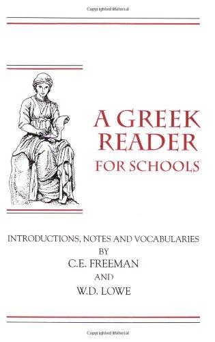 A Greek Reader for Schools (Greek Edition)