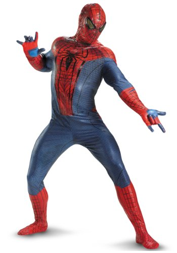 Disguise Mens Amazing Spiderman Movie Elite Theatrical Quality Marvel Costumes