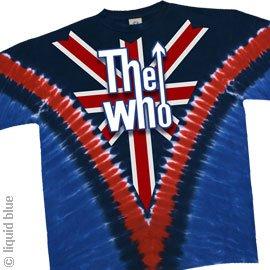 THE WHO 'Long Live Rock' 2-sided V-dye t-shirt (Medium)