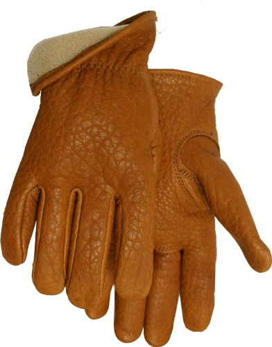 American Made Buffalo Leather Vellux Lined Work Gloves , 650V, Size: Large (Made In Usa Leather Gloves compare prices)