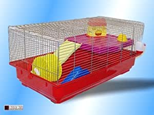 Pet Inn Djerba Palace Huge Hamster Cage For Small Rodents - Free Slide Included!