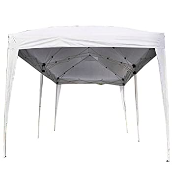 Giantex 10'x20' Ez POP up Wedding Party Tent Folding Gazebo Beach Canopy W/carry Bag