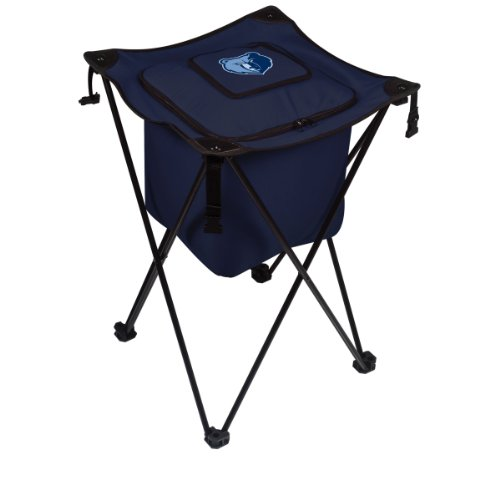 Nba Memphis Grizzlies Sidekick Insulated Portable Cooler With Integrated Legs front-602881
