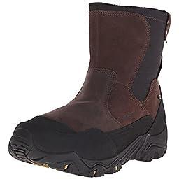Merrell Men\'s Polarand Rove Zip Waterproof Boot, Espresso, 11 M US