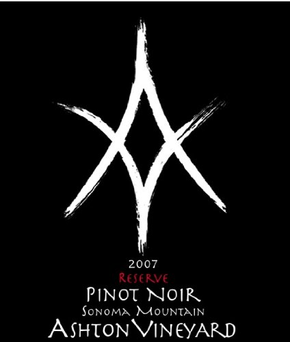 2007 Ashton Vineyards Reserve Old Vine Pinot Noir Sonoma Mountain 750 Ml