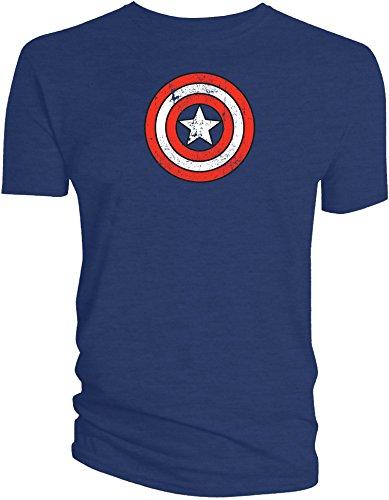 marvel-t-shirt-captain-americas-shield-distressed-grosse-xl