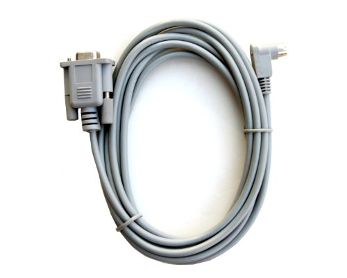 Allen Bradley Micrologix Cable with 90 Degree End 1761-CBL-PM02 (Micrologix 1000 Cable compare prices)