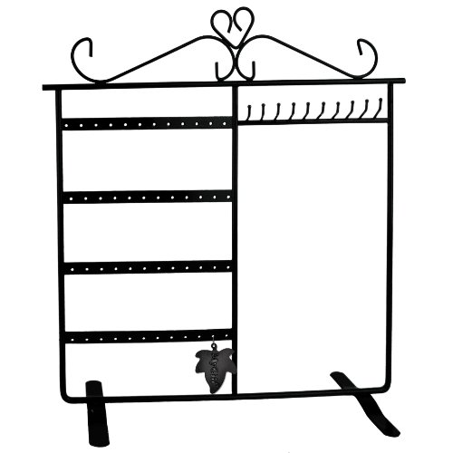 Classic Black Jewelry Holder, Jewelry Stand for