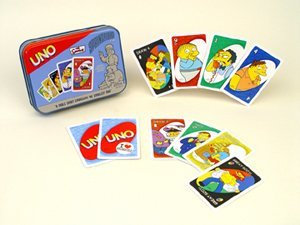 Uno: The Simpsons Springfield Edition