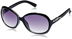 GIO Collection Oversized Sunglasses (Black) (P12306)