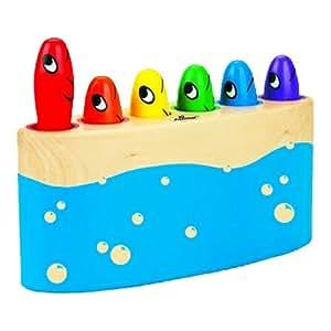 IQ Preschool Push 'N Pop Fish