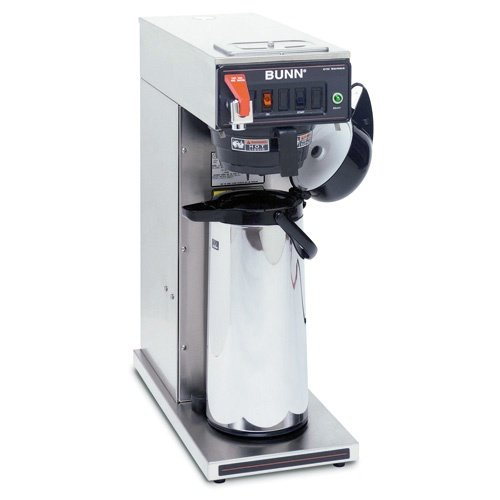 Bunn Cwtf Twin APS Twin Airpots & Thermal Carafes Coffee Brewer Brews 15 Gallons Stainless Steel