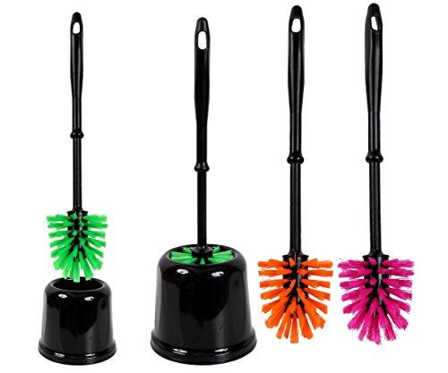 Design Klobürste, WC Bürste, Toilettenbürste, WC Garnitur, Klo Bürste,Farbig,, Farbe:Green Apple