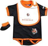 Cincinnati Bengals NFL Creeper/Bootie Set 12 Months Amazon.com