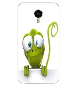 ColourCraft Funny Frog Design Back Case Cover for MEIZU BLUE CHARM NOTE 3