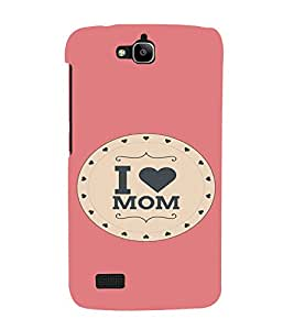 PrintVisa Mom Mother Quotes Design 3D Hard Polycarbonate Designer Back Case Cover for Huawei Honor Holly