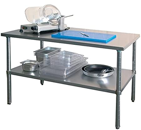 Arbeitstisch mit Grundboden, 1200x700x860-900 mm,