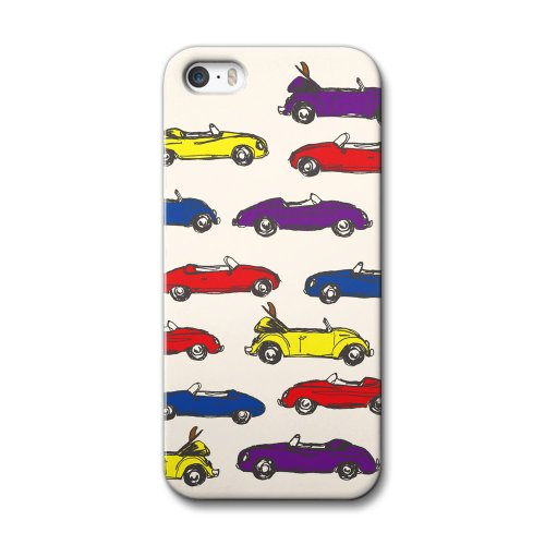 33design×collaborn iPhone5/5s専用スマートフォンケース OPEN CAR Ivory BR-I5S-040