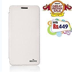 RSAFE Anti-Radiation Flip Book Case Cover For  Lumia 730 (White)