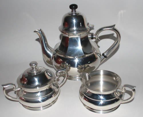 Royal Selangor Pewter Coffee/Tea Set (Pewter Tea Service compare prices)