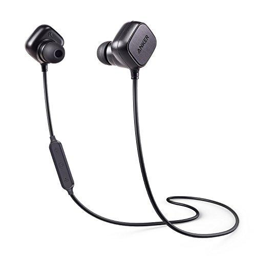 Anker SoundBuds Sport IE20 (スマートマグネット搭載 Bluetooth イヤホン) 【aptX対応 / CVC 6.0ノイズキャンセル / 内蔵マイク搭載】 iPhone、Android各種対応 ブラック A3230011