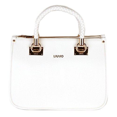 Liu Jo Quadrata M Sacchetto, Borsa delle Donne, bianco A16085E0087-10601