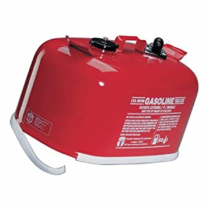 Tempo TPC6 6 - Gallon Metal Fuel Tank Red