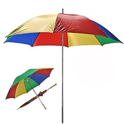 JEMIDI Sonnenschirm 130cm Durchmesser Strand Schirm Sonnenschirm Sonnenschutz tragbar von JEMIDI bei Gartenmöbel von Du und Dein Garten