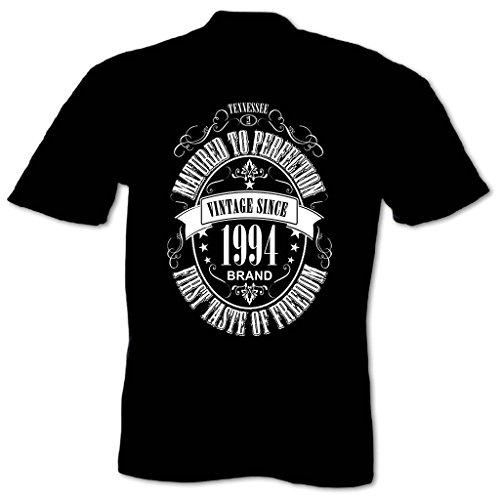 Bang Tidy Clothing Men'S Matured To Perfection 1994 Birthday T Shirt Black M
