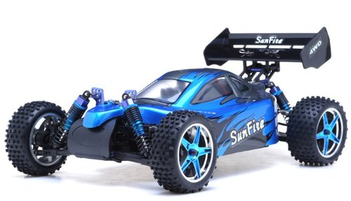 1/10Th 2.4Ghz Exceed Rc Brushless Pro 2.4Ghz Electric Sunfire Rtr Off Road Buggy (Dd Blue)