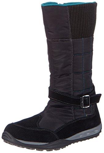 SuperfitCARA BOOT - Stivali da neve, gamba lunga, imbottitura calda Ragazza , Nero (Nero (Nero 00)), 27