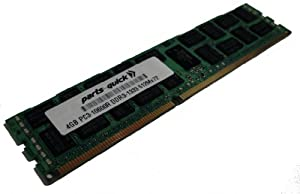 4GB Memory Upgrade for Dell PowerEdge R510 DDR3 1333MHz PC3-10600 ECC Registered Server DIMM (PARTS-QUICK BRAND)